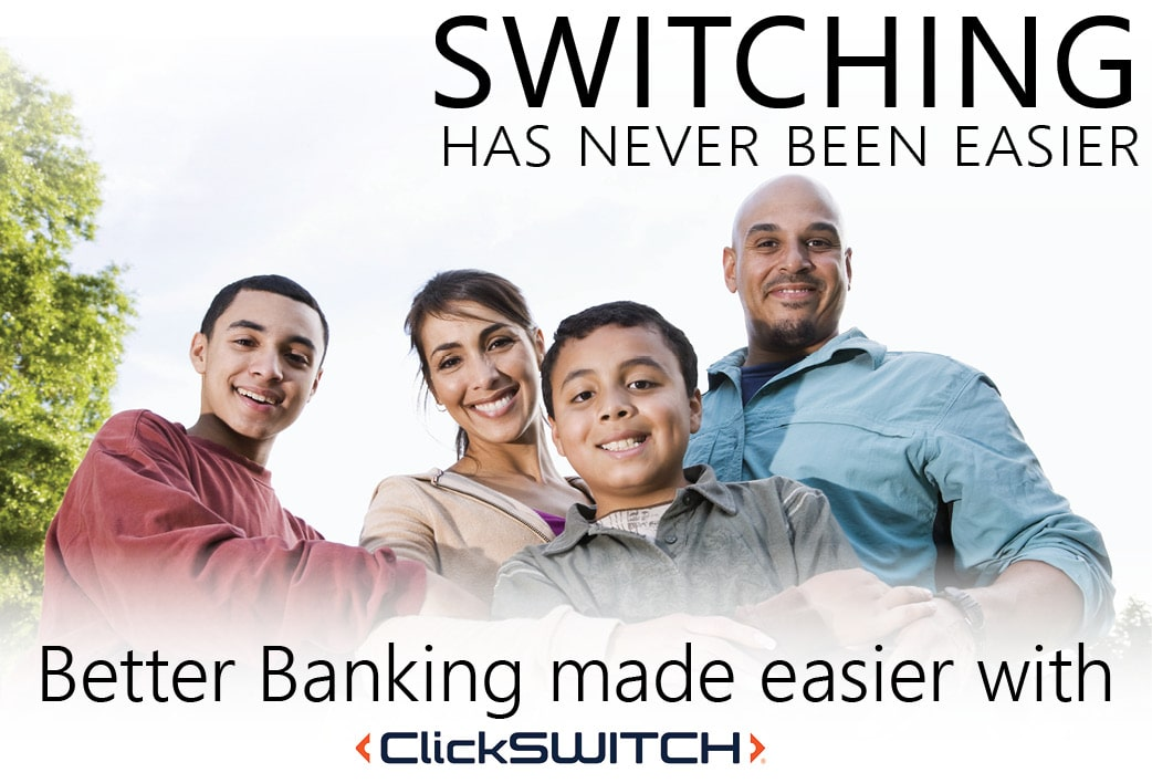 Use ClickSWITCH to switch your direct deposits!