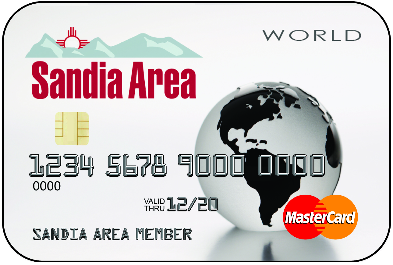 Sandia Area World Rewards MasterCard