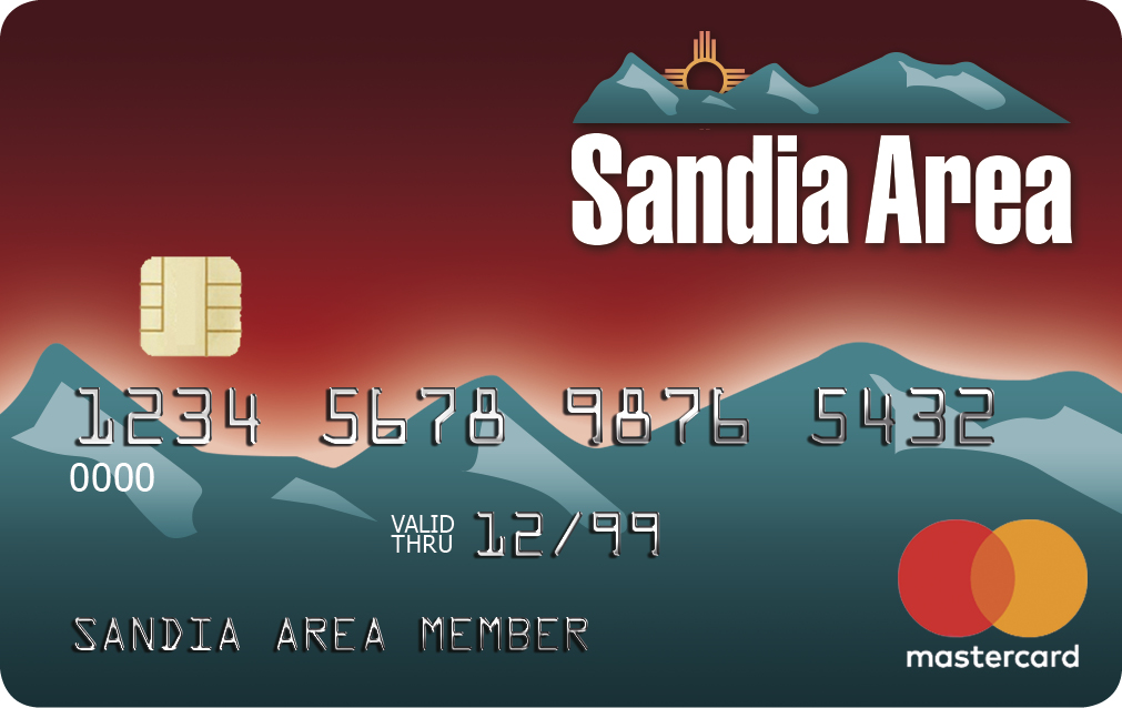 Sandia Area Debit Card