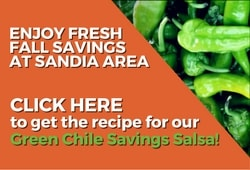 Green Chile Savings Salsa