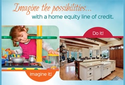 Imagine the Possibilities with a Home Equity Line of Credit