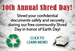 10th Annual Shred Day!